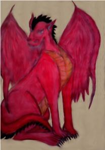 Jay czerwony smok