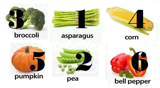 vegetables-in-english